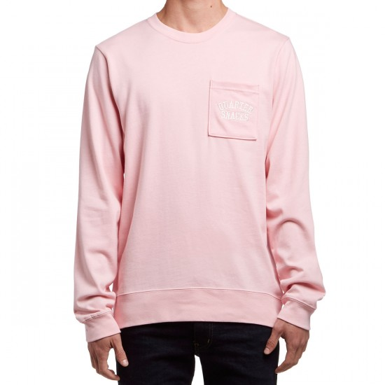 Nike SB X Quartersnacks Heavy Weight Long Sleeve T-Shirt - Sheen/Ivory