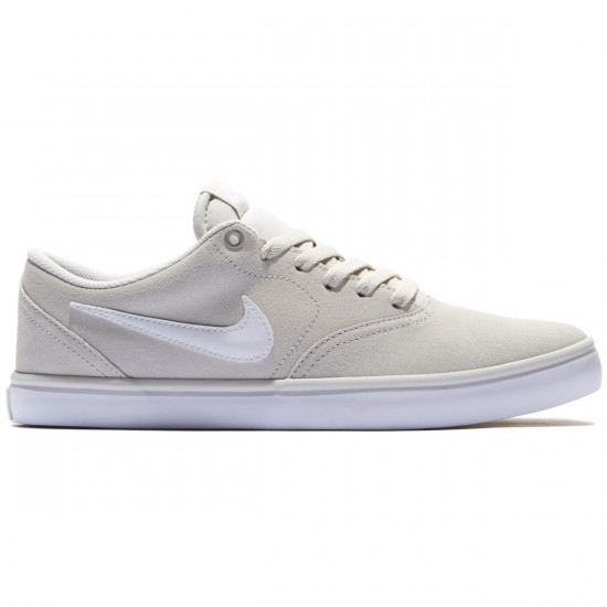 Nike SB Check Solarsoft Shoes - Light Bone Gum/Brown/White - 8.0