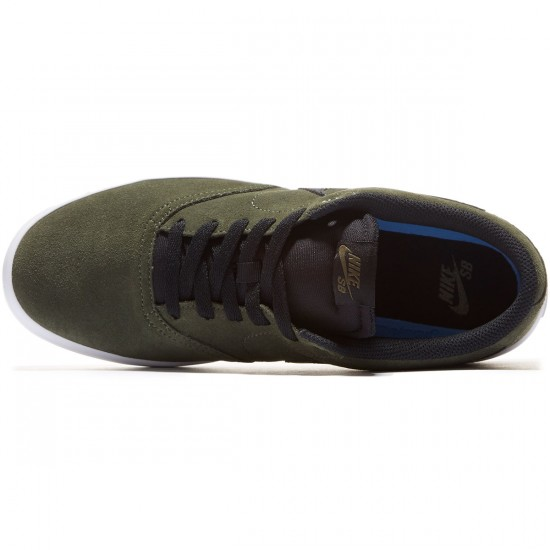 Nike SB Check Solarsoft Shoes - Cargo Khaki/Black - 7.0