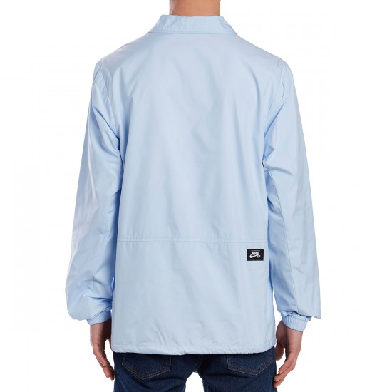 Nike SB Shield Coaches Jacket - Hydrogen Blue/White