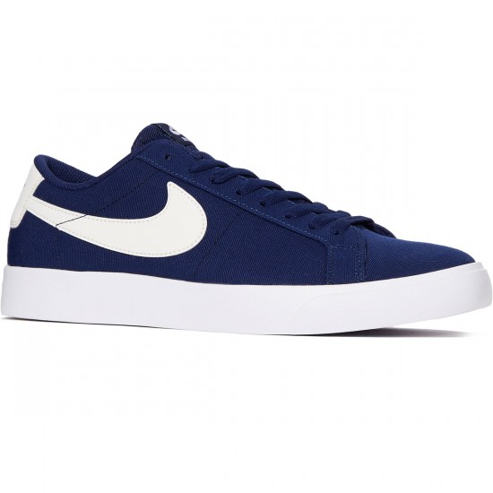 Nike SB Blazer Vapor Shoes - Binary Blue/Sail/White - 6.0