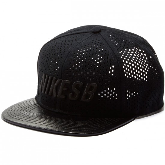 Nike SB S+ Road Performance Trucker Hat - Black