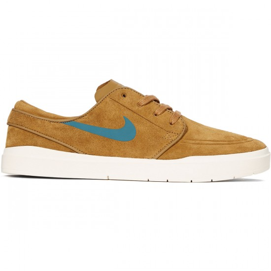 Nike SB Stefan Janoski Hyperfeel Shoes - Golden Beige/Sequoia/Sail - 9.0