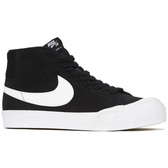 Nike SB Zoom Blazer Mid XT Shoes - Black/White Gum/Brown - 6.0
