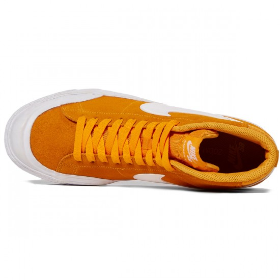 Nike SB Zoom Blazer Mid XT Shoes - Circuit Orange/White Gum/Brown
