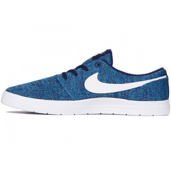 Nike SB Portmore II Ultralight Shoes - Binary Blue/White/Star Blue - 7.0