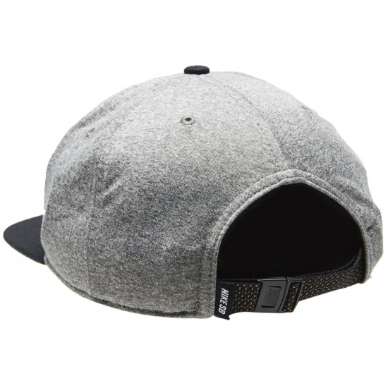 Nike SB Aerobill Hat - Carbon Heather/Black/Pine Green