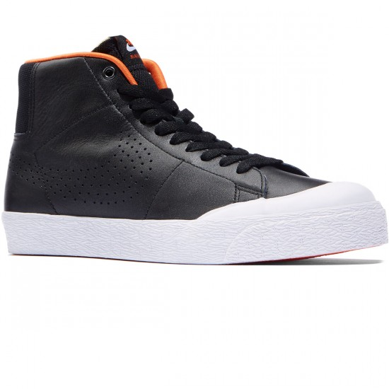 Nike Sb Blazer Mid Xt Shoes Black