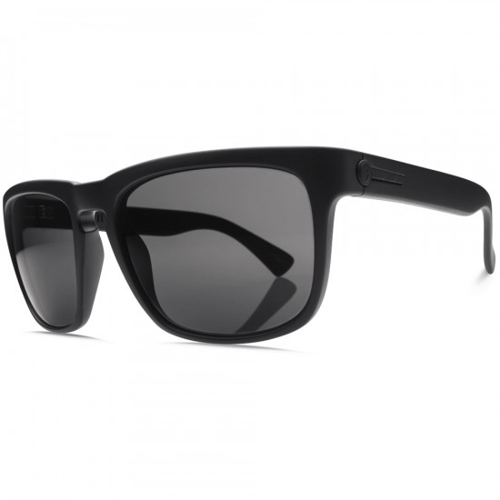 Electric Knoxville Sunglasses - Matte Black/OHM Polarized Grey