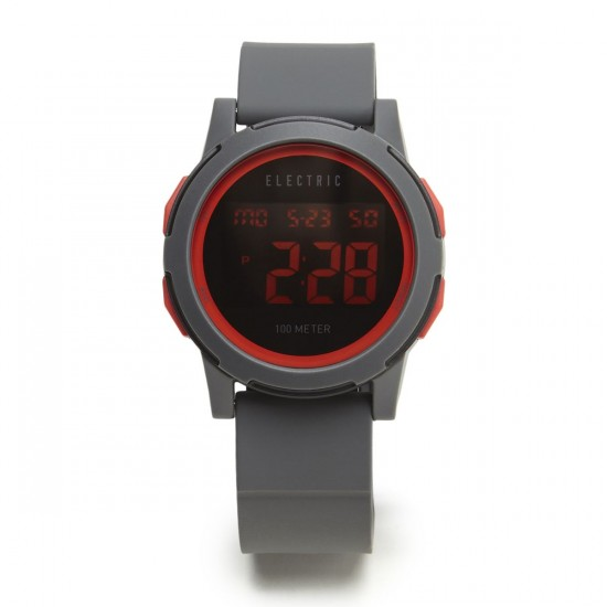 Electric Prime Watch - Grey/Red