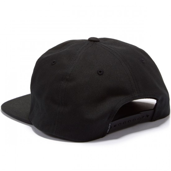 Electric New Uniform Hat - Black Black Black