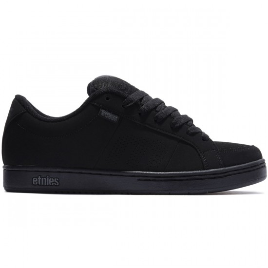 Etnies Kingpin Shoes - Black/Black - 8.0