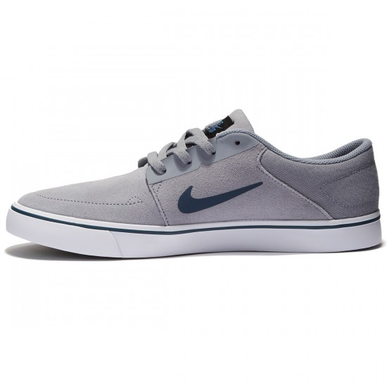 Nike SB Portmore Shoes - Stealth Blue - 7.0