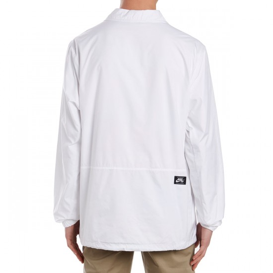Nike SB Icon Quilt Jacket - White/Mineral Gold