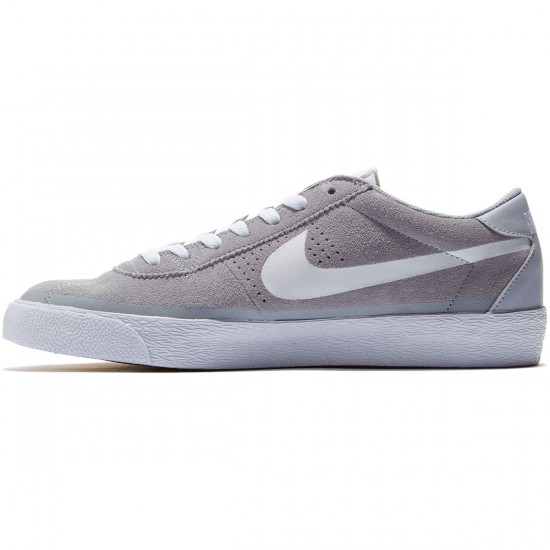 Nike SB Bruin Premium SE Shoes - Wolf Grey/Gum/Light Brown/White - 8.0