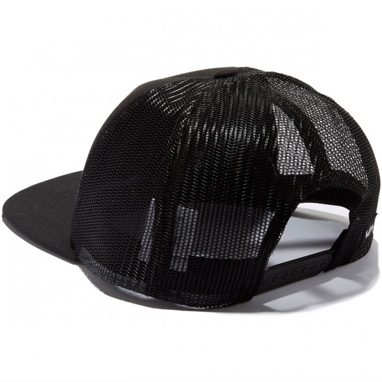 RVCA Injector Trucker Hat - Black