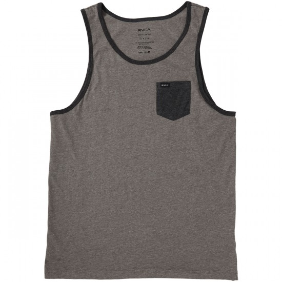 RVCA Change Up Tank Top - Grey Noise