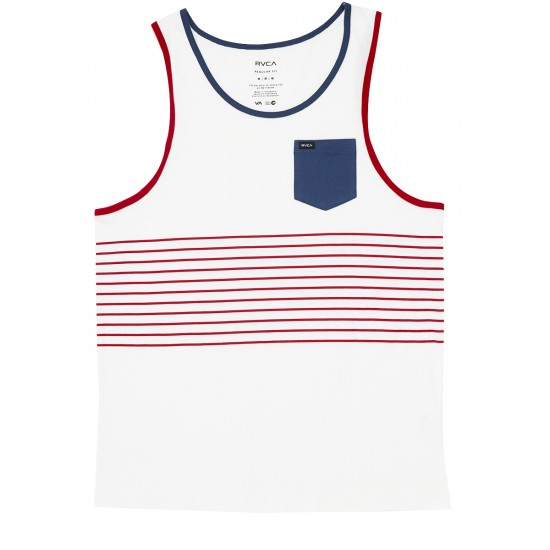 RVCA Change Up Tank Top - Vintage White