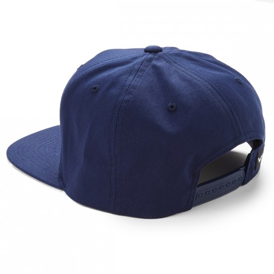 RVCA Commonwealth II Snapback Hat - Navy