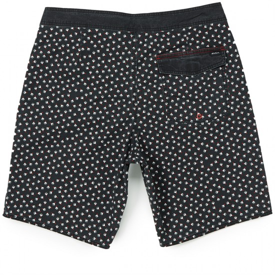 RVCA Particle Trunk Boardshorts - Black