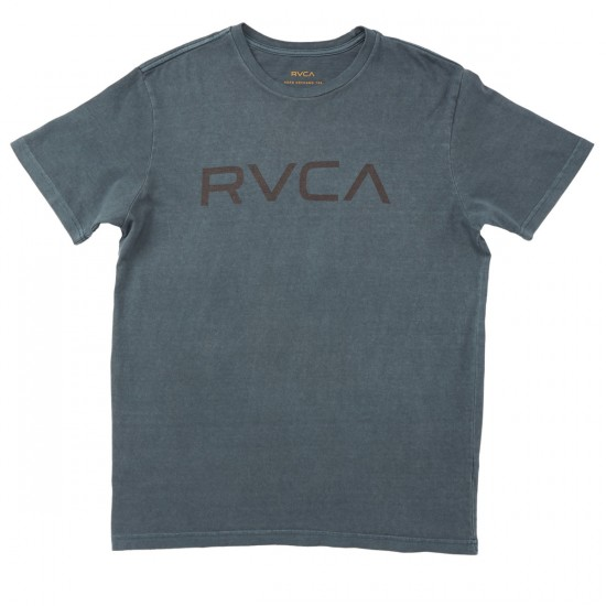 RVCA Big RVCA Transparent T-Shirt - Stormy Blue