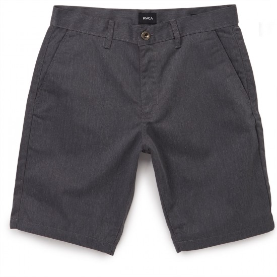 RVCA The Week-End Shorts - Charcoal Heather