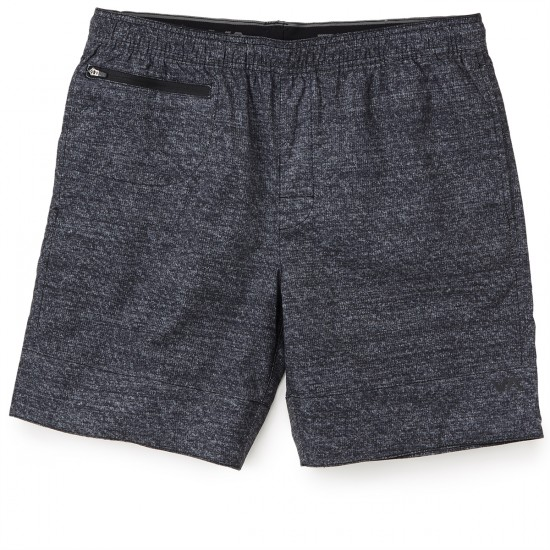 RVCA Petrol 18in Shorts - Grey Noise