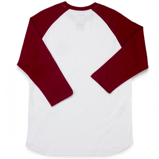 Element Southpaw 3/4 Sleeve T-Shirt - Cranberry