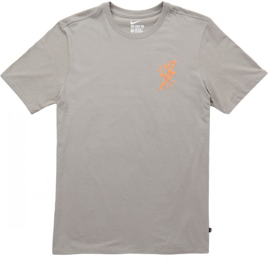 Nike SB Bolt T-Shirt - Dust/Dust/Clay Orange