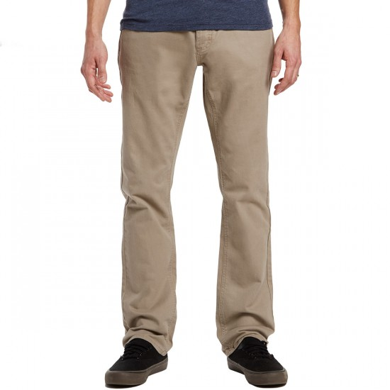 RVCA Stay RVCA Pants - Dark Khaki - 28 - 32