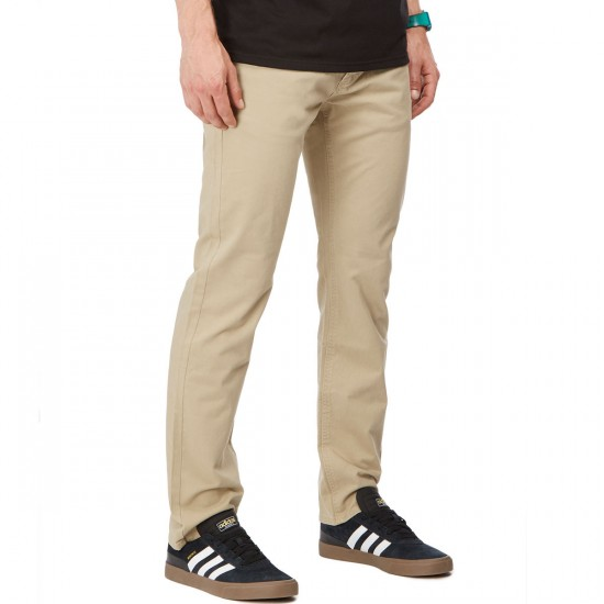 RVCA Stay RVCA Pants - Khaki - 30 - 32