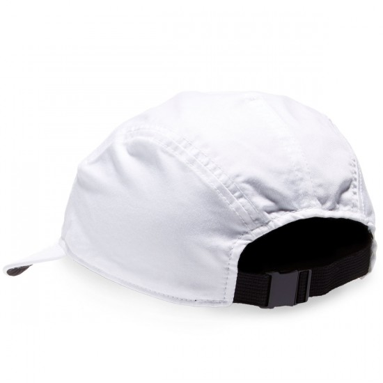 Nike SB Reversible 5 Panel Hat - White/Black