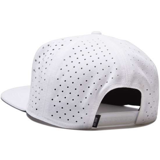 Nike SB Black Reflect Pro Trucker Hat - White/Black/White/Reflect Black