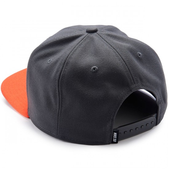 Nike SB Pro Hat - Anthracite/Max Orange/Black
