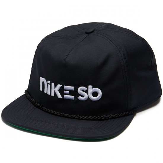 Nike SB Aerobill Hat - Black/Pine Green/White