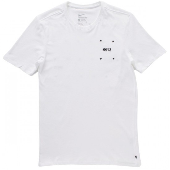 Nike SB Phillips T-Shirt - White/White/Black