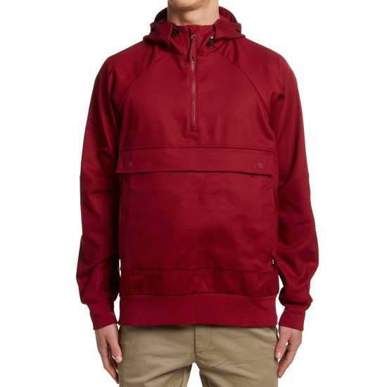 Nike SB Everett Anorak Jacket - Red/Red/Red