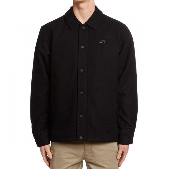 Nike SB Wool Coaches Jacket - Black/Anthracite