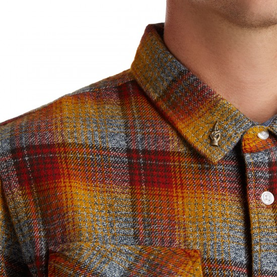 Loser Machine Carfield Shirt - Red/Gold