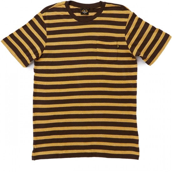 Loser Machine Stag T-Shirt - Brown/Gold