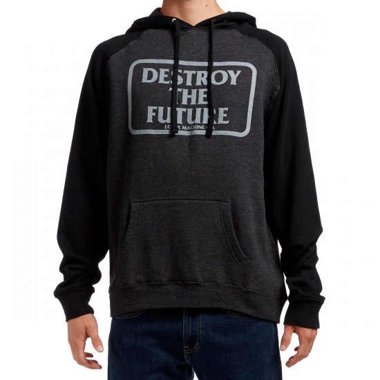 Loser Machine Destroy Forever Hoodie - Charcoal/Black