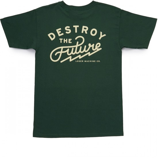 Loser Machine Standpoint T-Shirt - Forest Green