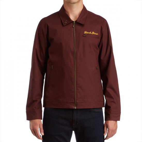 Dark Seas Transfit Jacket - Rum Raisin