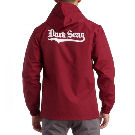 Dark Seas Pastime Jacket - Cardinal