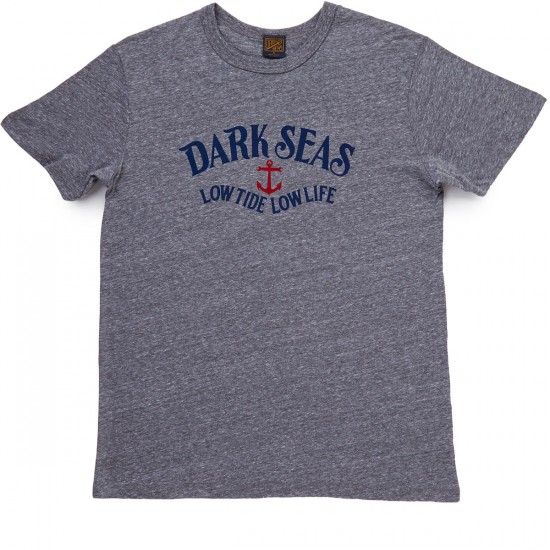 Dark Seas Mastery T-Shirt - Heather Grey