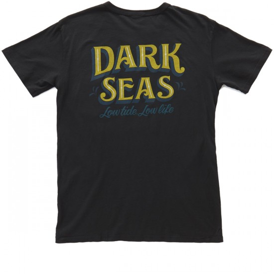 Dark Seas Tuki T-Shirt - Black