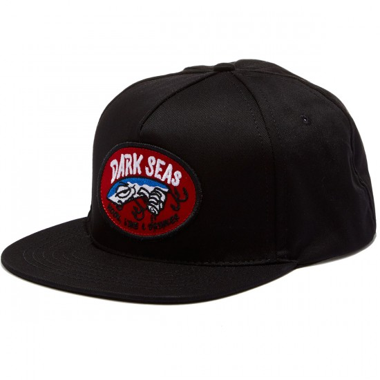 Dark Seas Ladderwell Hat - Black