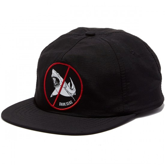Dark Seas Jaws Hat - Black