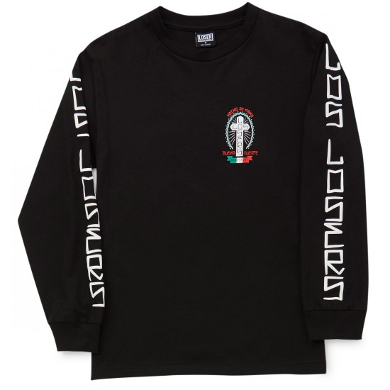 Loser Machine Buena Suerte Long Sleeve T-Shirt - Black