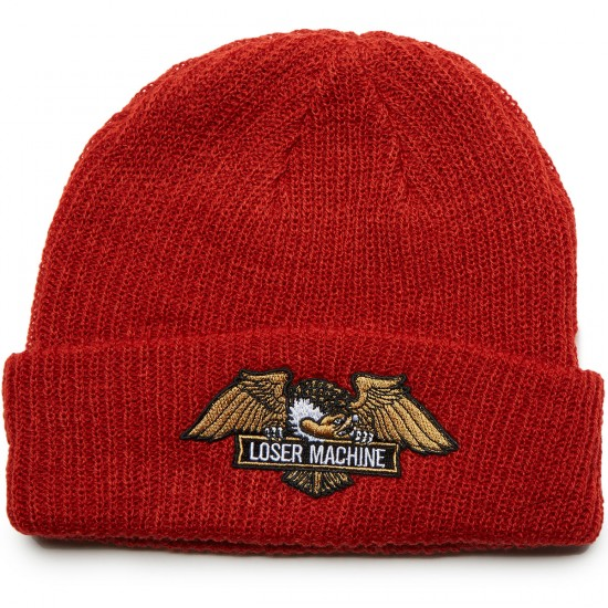 Loser Machine Frank Beanie - Red